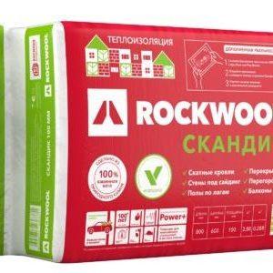 Утеплитель ROCKWOOL Лайт Баттс Скандик 1200х600х150 мм 5 шт в упаковке