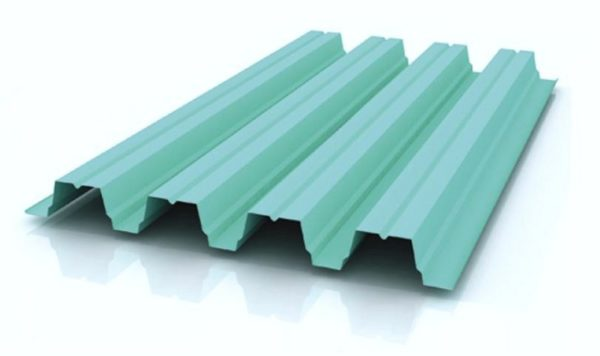 Профнастил Н-75 с полимерным покрытием 0.65-0.7 ММ, цена за м2