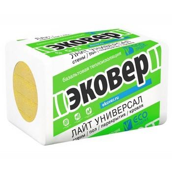 Утеплитель Эковер Лайт Универсал 28 1000x600x50мм  12 шт в упаковке