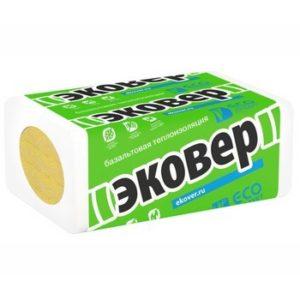 Утеплитель Эковер Вент-Фасад 70 1000x600x50 мм 8 шт в упаковке