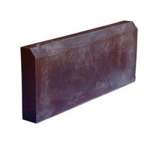 Бордюр тротуарный полимерпесчанный 500х200х50 мм коричневый
