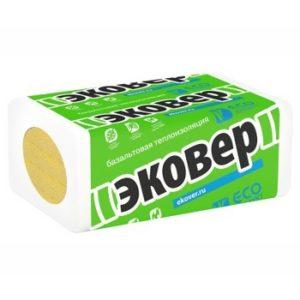 Утеплитель Эковер Экофасад 1000x600x100 мм х4 шт
