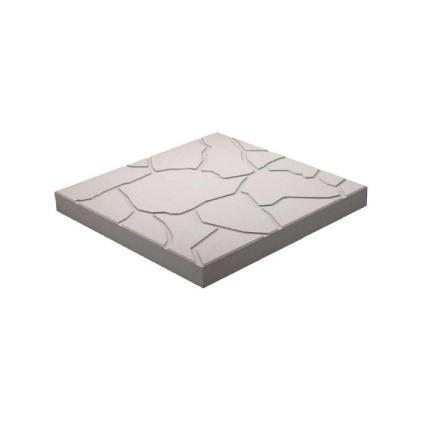 Тротуарная плитка «Песчаник»  300х300х30 (белый)