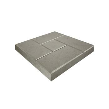 Тротуарная плитка «8 кирпичей» 400х400х50 (белый)