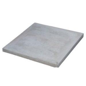 Тротуарная плитка  БП 500х500 серая