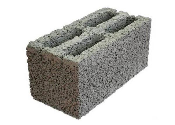 Керамзитоблок М 50 390х190х188 стеновой
