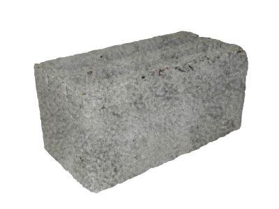 Керамзитоблок М 75 390х190х188 стеновой полнотелый