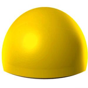Ограничитель парковки 500х250 мм бетонный, желтый.