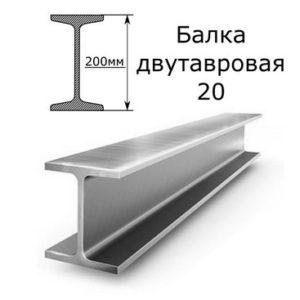 Двутавровая балка 20 12 м