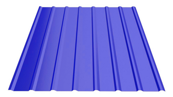 Профнастил С-18 с полимерным покрытием 0.4-0.7 ММ, цена за м2