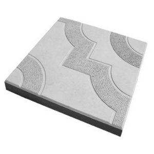 Тротуарная плитка «Фантазия» 300х300х30 (белый)