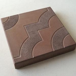 Тротуарная плитка «Фантазия» 300х300х30 (коричневый)