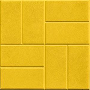 желтая тротуарная плитка