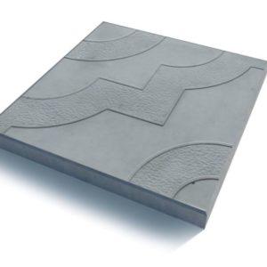 Тротуарная плитка «Фантазия» 300х300х30 (серый, желтый, красный, черн. мрамор)
