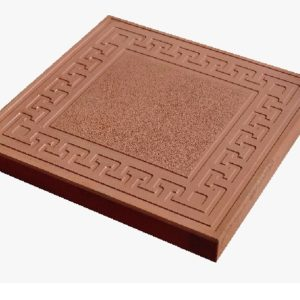 Тротуарная плитка «Готика» 300х300х30 (коричневый)
