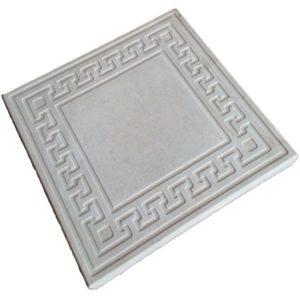Тротуарная плитка «Готика» 300х300х30 (белый)