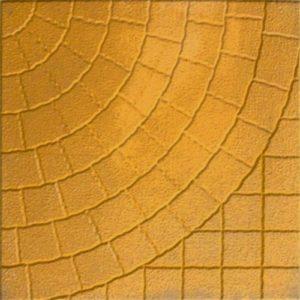 Тротуарная плитка «Колодец» 400х400х50 (желтый, красный, серый, черн. мрамор)