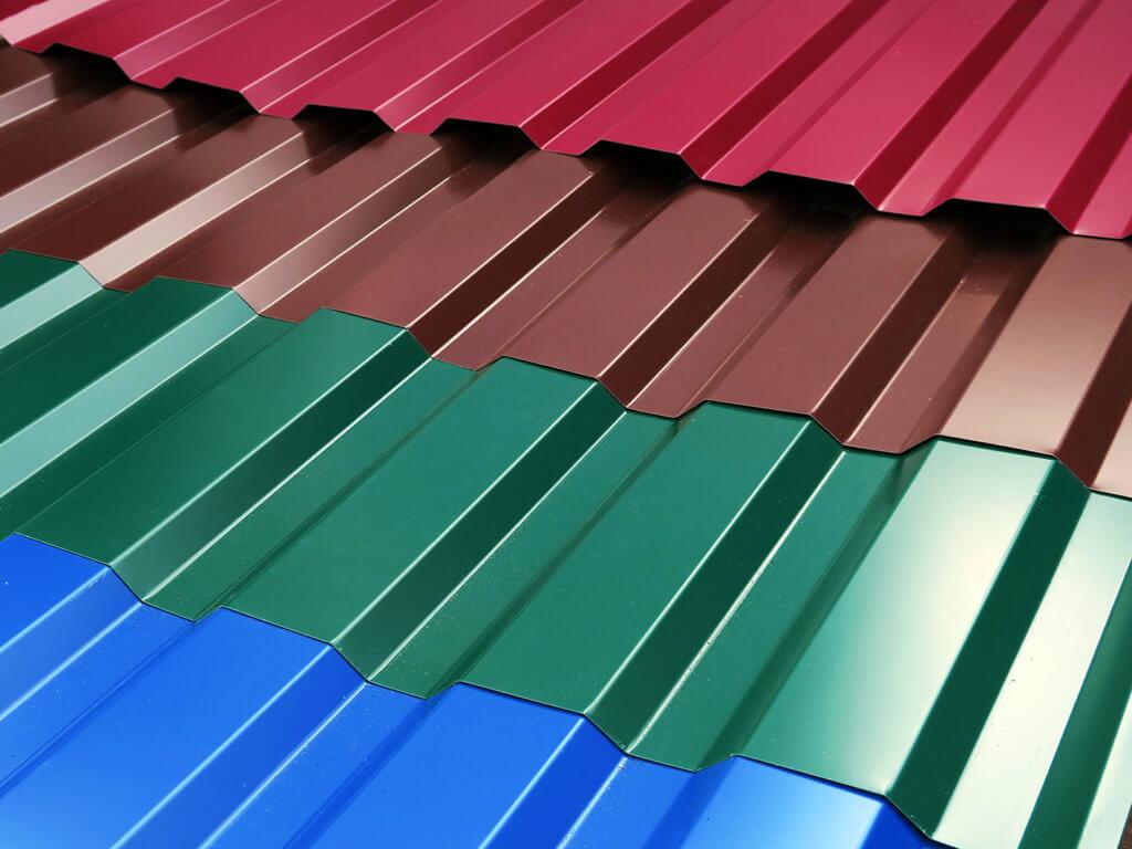 листы профнастила для крыши