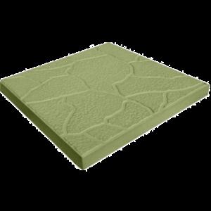 Тротуарная плитка «Песчаник» 300х300х30 (зеленый, кирпичный)
