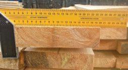 Сколько бруса в кубометре