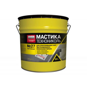 Мастика гидроизоляционную МГТН № 27