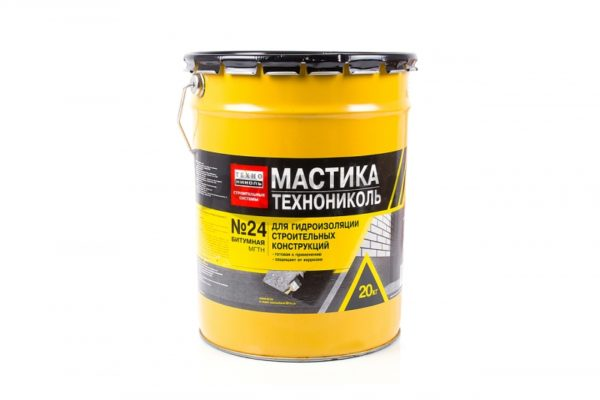 Мастика гидроизоляционная МГТН № 24