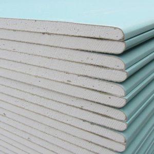 Лист гипсокартонный влагостойкий Кнауф 2500х1200х12,5 мм