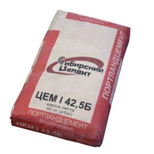 Цемент ЦЕМ I 42,5Б (ПЦ-500), Топки, 50кг