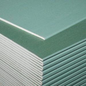 Лист гипсокартонный влагостойкий Knauf 2500х1200х9,5 мм