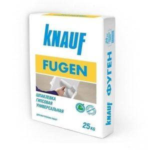 Шпаклевка универсальная гипсовая Кнауф Фуген 25 кг