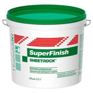 Шпаклевка универсальная Danogips (Sheetrock) SuperFinish, 17л ( 28 кг)