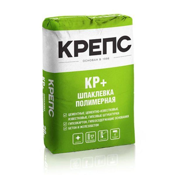 Шпаклевка полимерная Крепс КР плюс, 20 кг