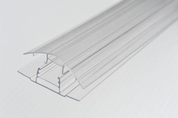 Профиль соединительный КРЫШКА, прозрачный 6-10 мм