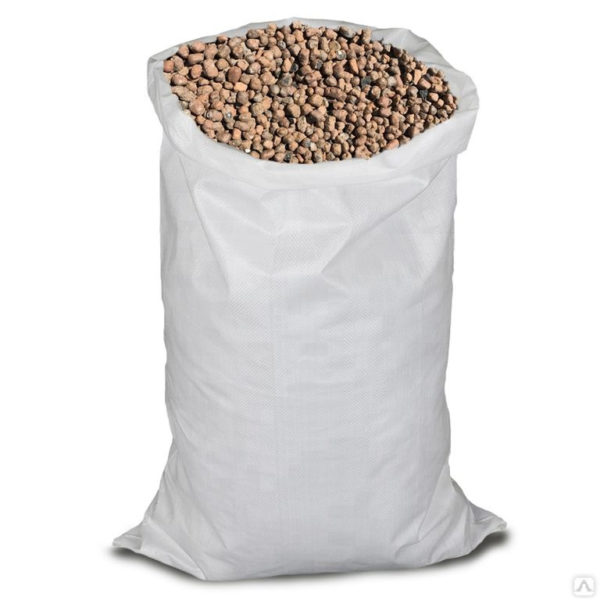 Керамзит в мешках (фр. 10-20 мм),40л