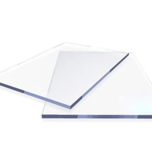 Монолитный поликарбонат прозрачный Кристалл 2 мм., лист 2050х3050
