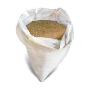 Песок строительный крупнозернистый намывной, 50 кг