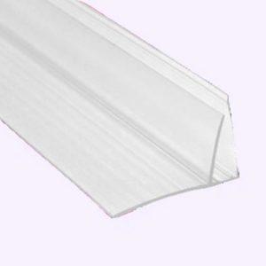 Профиль пристенный прозрачный 4-6 см
