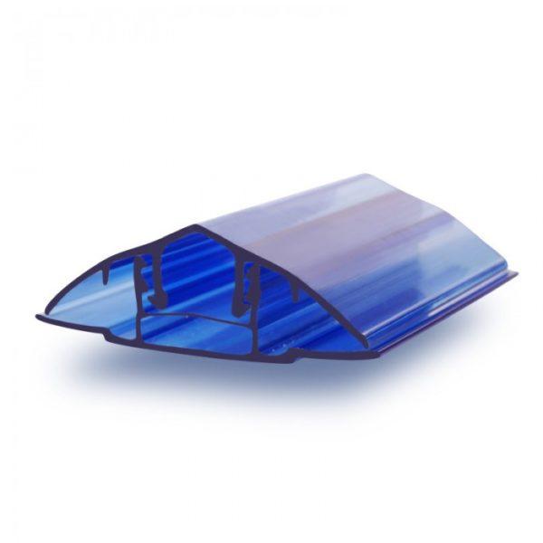 Профиль соединительный из 2-х частей КРЫШКА, цветной  6-10 мм