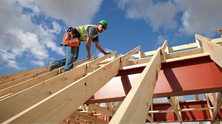 Строительство крышы