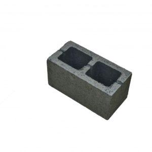Керамзитобетонный блок двухпустотный 390х190х188 М-35