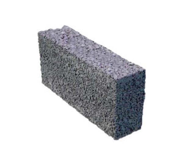 Керамзитобетонный блок (перег. полнот) 390х80х188 М-35
