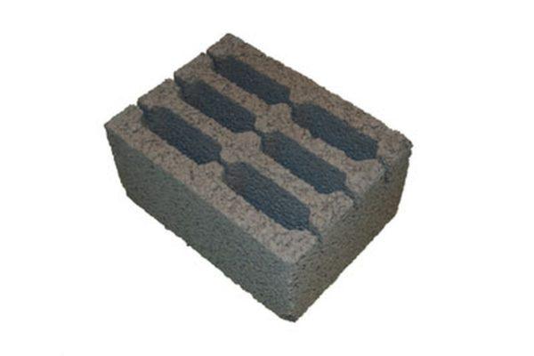 Керамзитобетонный блок (стеновой) 390х250х188 М-50
