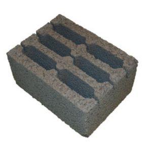 Керамзитобетонный блок (стеновой) 390х290х188