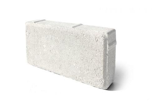 "Брусчатка ""Кирпичик"" 100х200х50 белый цемент"