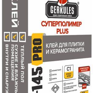 Клей для плитки и керамогранита KERAMIK MAX PRO Геркулес GM-155, 25 кг