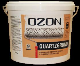 Грунтовка под декоративные штукатурки OZON Quartzgrund,15 кг. (ВД-АК 032)