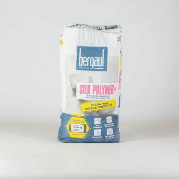 Шпаклевка финишная полимерная Bergauf Silk Polymer, 25 кг