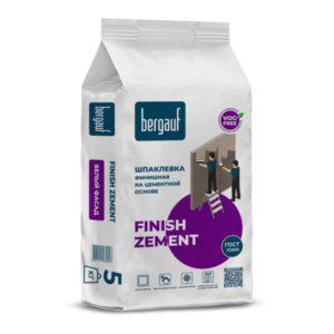 Шпаклевка финишная цементная Bergauf Finish Zement, 5 кг