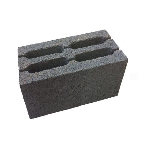 Керамзитблок М-100, пустотелый, 390*190*188мм
